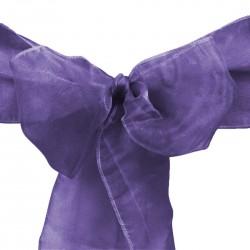 Lazo Organza Purpura