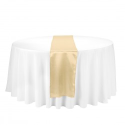 Satin Table Runner Oro